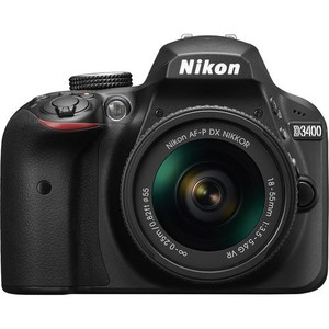 Nikon D3400 DSLR Camera with 18-55mm Lens (Camtronix Warranty)
