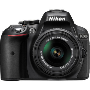 Nikon D5300 DSLR Camera With 18-55mm VR Lens (Built-in WIFI)