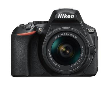 Nikon D5600 DSLR Camera With 18-55mm VR Lens (Camtronix Warranty)