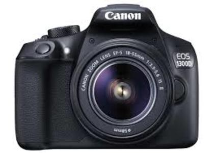 Canon EOS 1300D DSLR Camera with 18-55mm IS II Lens