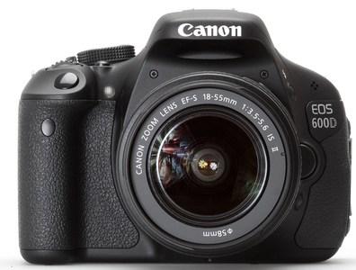 Canon EOS 600D Digital SLR Camera 18-55mm lII f/3.5-5.6 Kit Lens