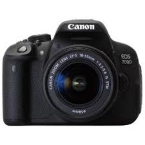 Canon EOS 700D DSLR Camera with EF-S 18-135mm f/3.5-5.6 IS STM Lens