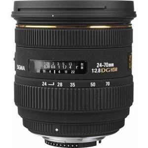 Sigma Wide Angle 24mm f/1.8 EX Aspherical DG DF Macro Autofocus Lens