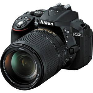 Nikon D5300 DSLR Camera with 18-140mm Lens (Camtronix Warranty)