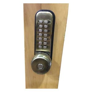 Round & Numeric Lock With Warranty