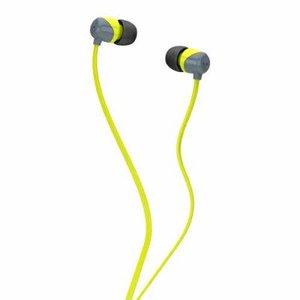 Skullcandy S2DUFZ-385 JIB Earbuds Grey/ Lime