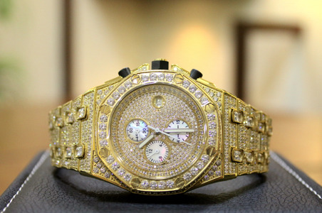 Get Your Watch 24kt Gold Plated with Certificate Of Authenticity