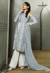 Asim Jofa - Luxury Lawn Collection 18 - AJL18-02B
