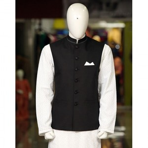Peter Sham - Suiting Waist Coat Waist Coat PSW-004 Black