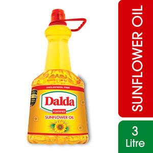 Dalda Sunflower Oil 3 ltr Bottle