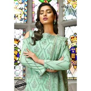 Asim Jofa - Luxury Lawn Collection 18 - AJL18-02A