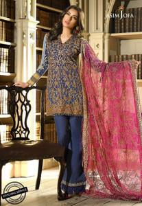 Asim Jofa - Luxury Lawn Collection 18 - AJL18-12A