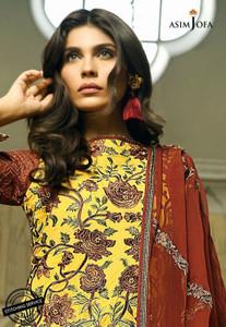 Asim Jofa - Luxury Lawn Collection 18 - AJL18-13B
