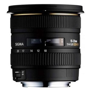 Sigma 10-20mm F/4-5.6 EX DC HSM Lens For Nikon & Canon
