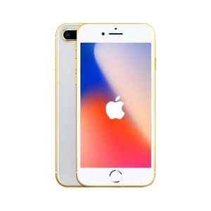 Apple iPhone 8 Plus 64GB 24kt Gold Plated