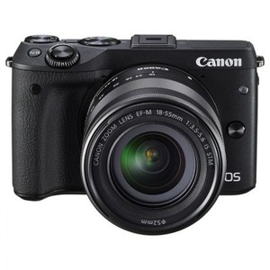 Canon EOS M3 DSLR Camera With 18-55mm Lens With Warranty