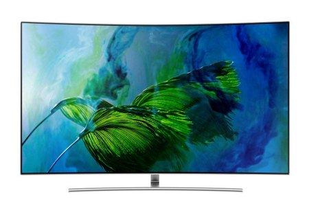 Buy Samsung 65 inch Q8C 4K Curved Smart QLED TV