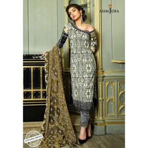 Asim Jofa - Luxury Lawn Collection 18 - AJL18-04A