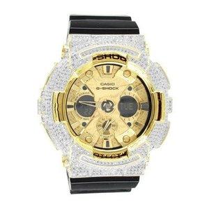 Casio G-Shock GA200GD Mens Watch 14kt Gold Plated Bezel