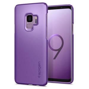 Spigen Galaxy S9 Case Thin Fit Lilac Purple