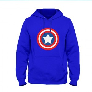 Captain America Hoodie By Next Level Clothing