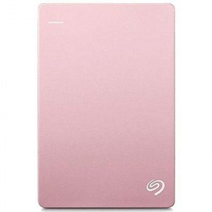 Seagate Backup Plus Slim 2TB Portable External Hard Drive Rose Gold with 3 Years Official Warranty
