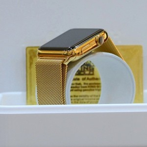 Get Your Apple Watch 24kt Gold Plated with Certificate
