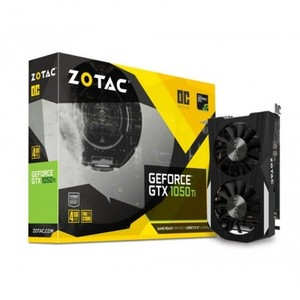 ZOTAC GEFORCE® GTX 1050 TI OC EDITION 2 Year Warranty