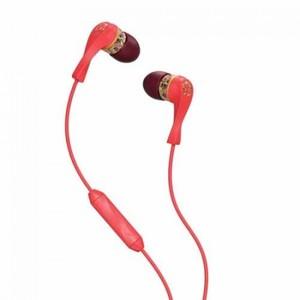 Skullcandy S2IKHY-419 Winkd Womens Headphones with Earbud  Mic Coral/Floral/Burgundy