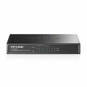 TP-LINK TL-SG1008P Gigabit Desktop Switch with 8 ports of which 4 with PoE