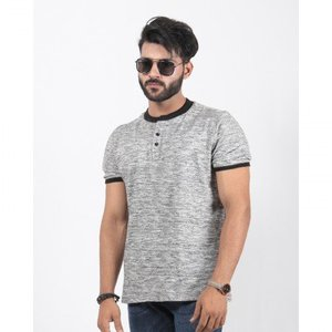 Red Tree- Grey Henley Returns - Rt1558