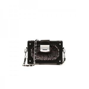 Glam Mini Box Black Bag By Julke