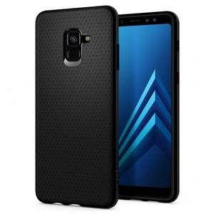 Spigen Liquid Air Case For Samsung Galaxy A8 & A8 (2018) Plus Matte Black
