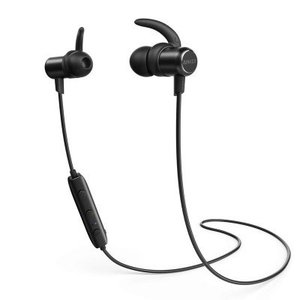 Anker SoundBuds Slim Bluetooth Headphone Black with Official Warranty