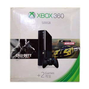 Xbox 360 500GB with Forza Horizon and COD Black Ops 2