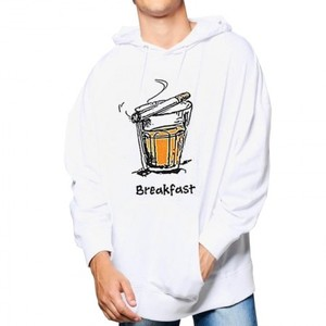 Break Fast Hoodie By Next Level Clothing