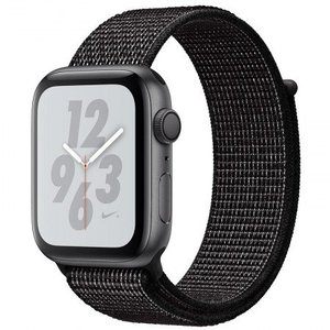 Apple Watch Series 4 MU7G2 40mm Nike+ Space Gray Aluminum Case with Black Nike Sport Loop (GPS)