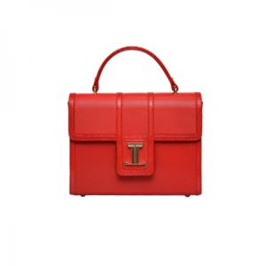 Tefe Red Hand Bag By Julke