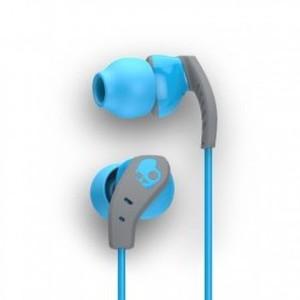 Skullcandy S2CDGY-401 Method In-Ear Sport Performance Earphones Blue And Gray
