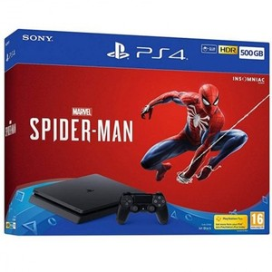 Playstation 4 500GB Console with Marvels Spider-Man