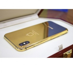 Apple iPhone X 64GB 24kt Gold Plated