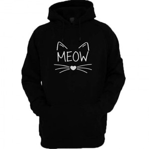 Meow Hoodie By Next Level Clothing