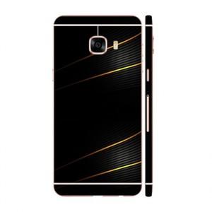 Golden Lines Mobile Skin For Samsung