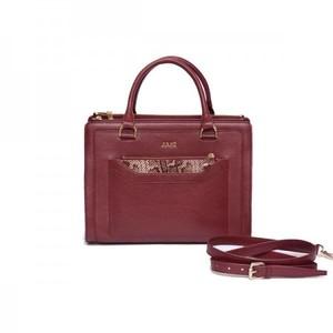 Totlin Burgundy Hand Bag By Julke