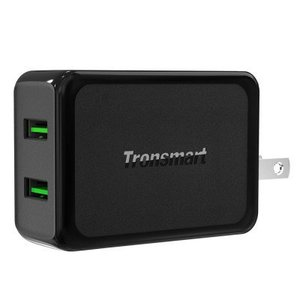 Tronsmart W2TF 36W Dual Port Quick Charge 3.0 Wall Charger With Official Warrranty