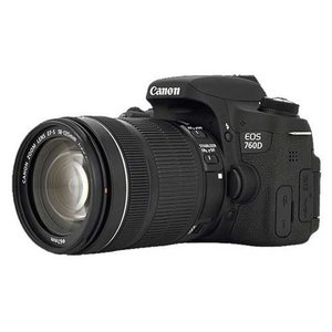 Canon EOS 760D Dslr Camera With 18-135mm STM Lens 16GB card Filter & Bag