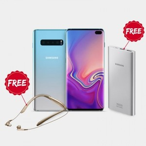 Samsung Galaxy S10 Plus (8GB  512GB) With Official Warranty + Free 10 000 mAh Battery Pack with level U Pro