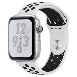 Apple Watch Series 4 MU6H2 40mm Nike+ Silver Aluminum Case with Pure Platinum/Black Nike Sport Band (GPS)