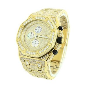 14kt Gold Plated Customized Presidential Luxury watch 47mm