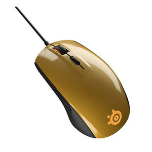 SteelSeries Rival 100 Gaming Mouse Alchemy Gold